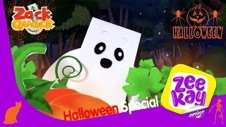Spooky Ghost Thief   Zack & Quack   ZeeKay Junior