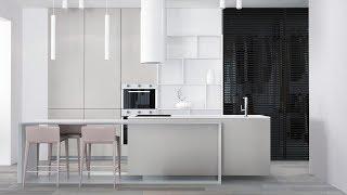 Дизайн квартиры студии в днепре жк Салют 50 кв.м