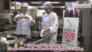 Jamie Oliver's Food Revolution: New Organic Cooking - Chef Anthony Fletcher, The Pawn
