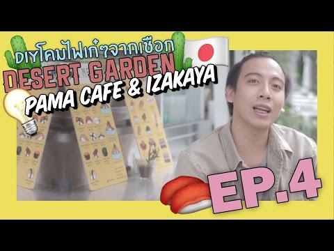 Garden Chic ka Chill | EP.4 | สวนโหลทะเลทราย/DIYโคมไฟ/Pama Cafe & Izakaya