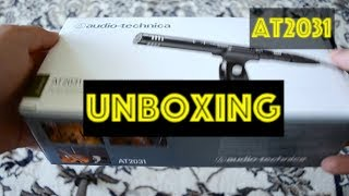 Audio-Technica - AT2031 (UNBOXING)
