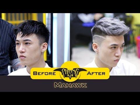 Kiểu tóc nam Faux hawk đẹp nhất 2018   Phong BvB