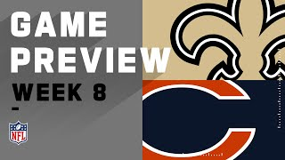New Orleans Saints vs. Chicago Bears | NFL Week 8 Game Preview