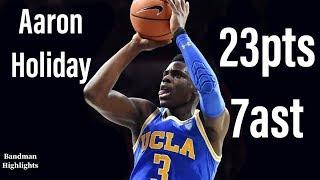 Aaron Holiday UCLA vs Utah/2.22.18/Highlights/23pts 7ast