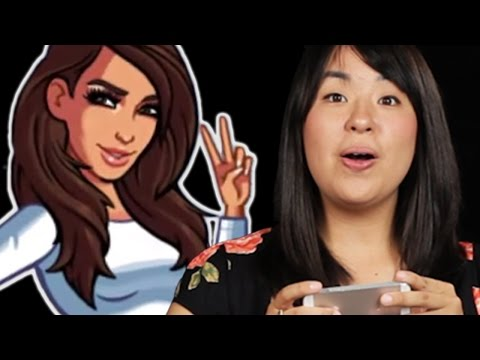 People Try The Kim Kardashian Game For The First Time