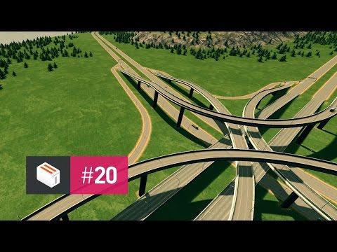 Let's Design Cities Skylines — EP 20 — Underwater Freeway & Interchange