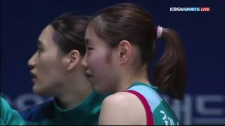 김지영 Highlight - 16.12.05 ( KEB하나은행 VS 신한은행 에스버드 )