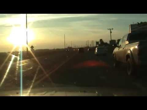 Driving Home from Army Yuma Proving Ground to 468 S. Orange Avenue, Yuma, Arizona, M2U00149