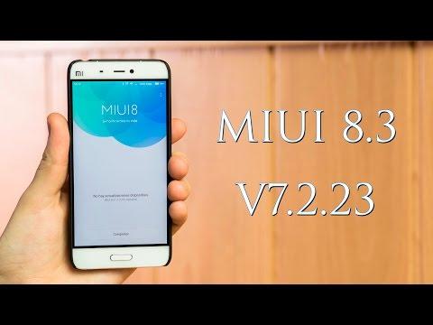 Beta V7.2.23, Miui V8.3, Novedades y experiencia
