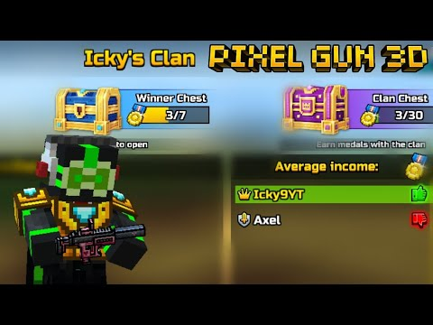 Pixel Gun 3D Clan! + Gameplay