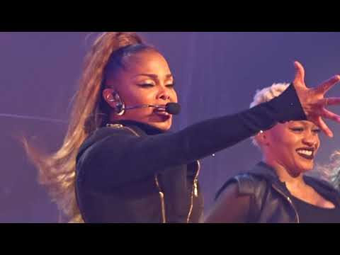 Janet Jackson - Rhythm Nation - Live @ Sprint Center 10/19/2017