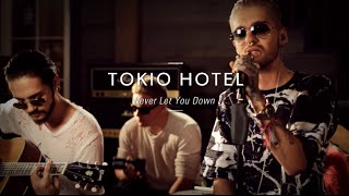 Tokio Hotel dropped by the Guitar Center Hollywood Vintage room to ...