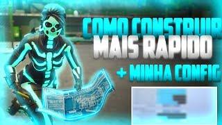 COMO CONSTRUIR MAIS RÁPIDO NO CONSOLE + MINHA NOVA CONFIGURAÇÃO (Fortnite Battle Royale PS4 PRO)