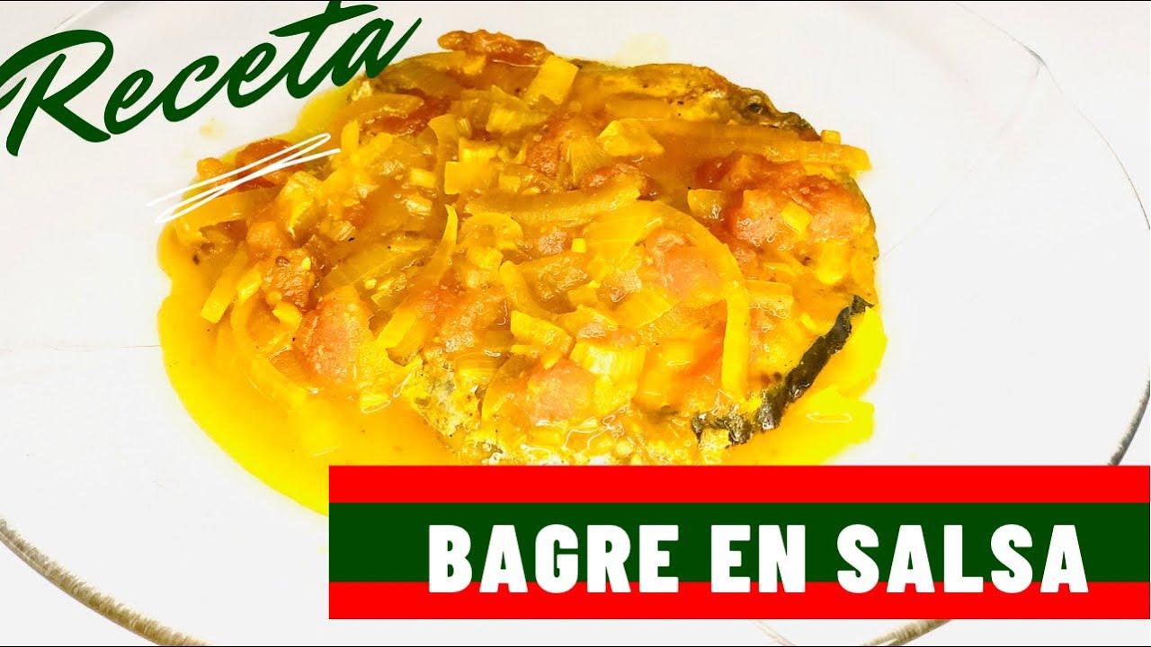 Bagre - Bagre en salsa - como preparar el bagre - Sudado de bagre - como hacer un bagre en salsa