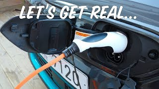 The *REAL* Problems With Electric Cars... An Honest Discussion in a KIA E-Niro [VLOG / WAFFLE]