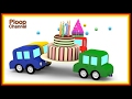 Cartoon Cars - SURPRISE BIRTHDAY! - Cartoons for Children!