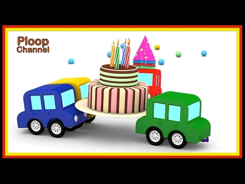 Thumbnail: Cartoon Cars - BIRTHDAY Surprise! Cartoons for Children - Videos for Kids - Kids Cars Cartoons