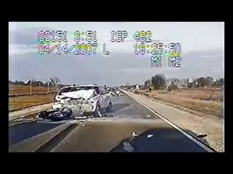 Ida Grove Iowa Motorcycle Pursuit (Fatal)