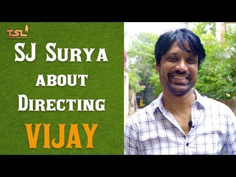 SJ Surya About Directing VIJAY | Mersal Tamil Movie | SJ Surya Interview | Sri Thenandal Films