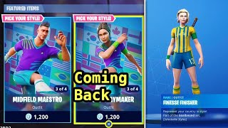 SOCCER SKINS ARE COMING BACK