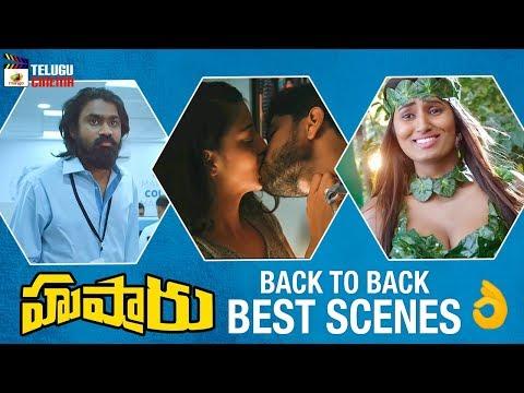 Husharu Movie BACK TO BACK BEST SCENES | Rahul Ramakrishna | 2019 Telugu Movies |Mango Telugu Cinema