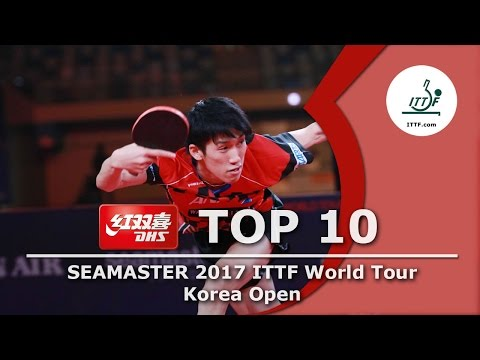 DHS ITTF Top 10 - 2017 Korea Open