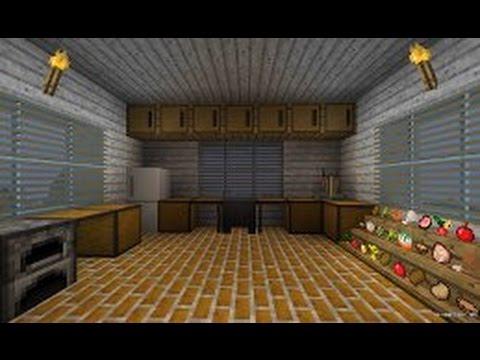 Как сделать кухню в майнкрафте фото 17