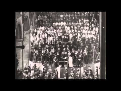 Bach B-minor Mass Credo - the first ever recording (1929)