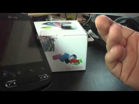 Unboxing / Mini review LG Optimus ME P350