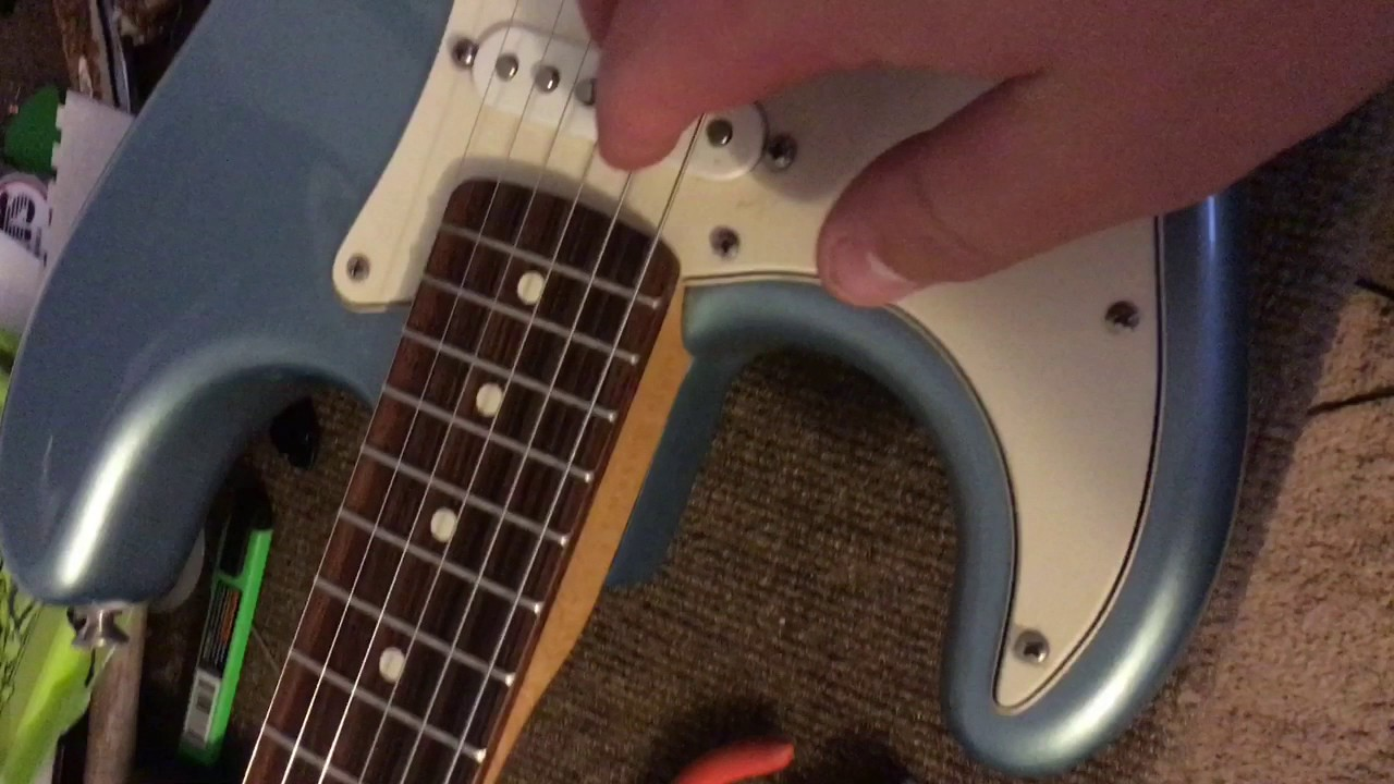 How To Turn A Left Handed Guitar Into Right