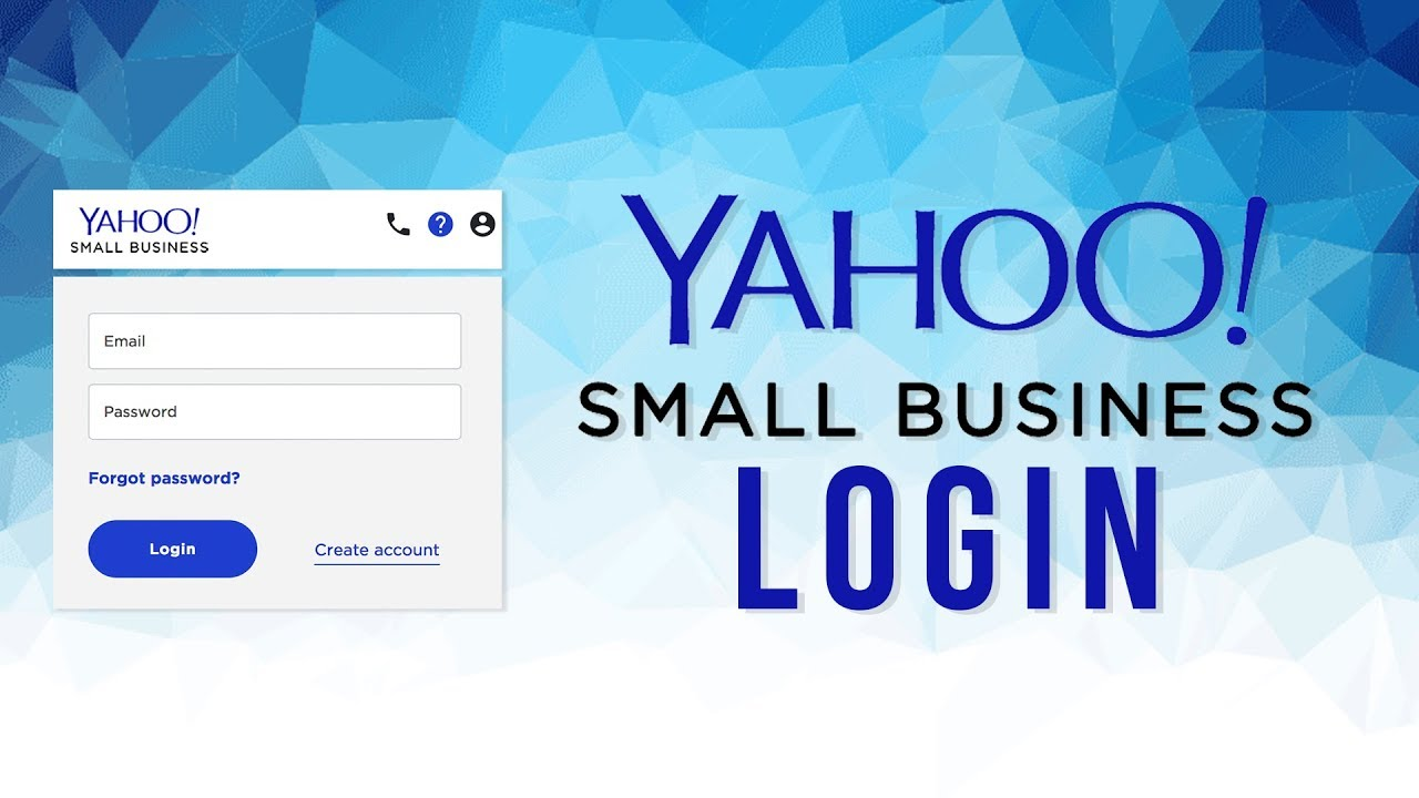 Yahoo Small Business Account Login | Yahoo Small Business | Yahoo Mail for  Business
