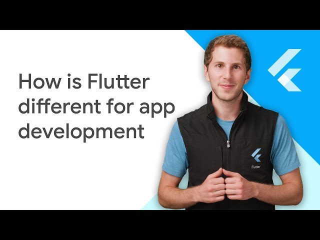 How is Flutter different for app development