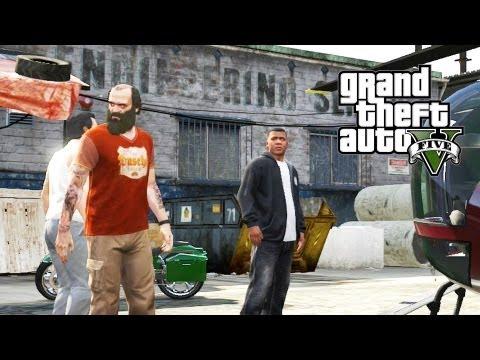 GTA V #21 - Missão com Franklin, Trevor e Michael Juntos! (GTA 5 em Português PT-BR)