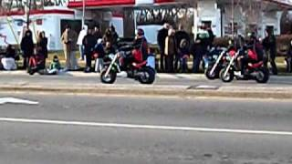 Burlington Santa Claus Parade 2010 - Motorcycles