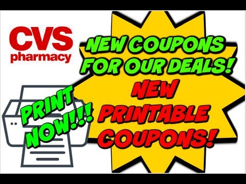 image relating to Cvs Printable Coupons referred to as CVS Current Specials W/ Fresh new PRINTABLE Coupon codes!