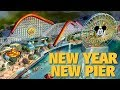 New Year New Pier | A Quick Guide to Pixar Pier | Disney California Adventure