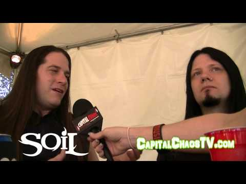 Soil (interview) @ Aftershock Fest 2013 on CAPITAL CHAOS TV