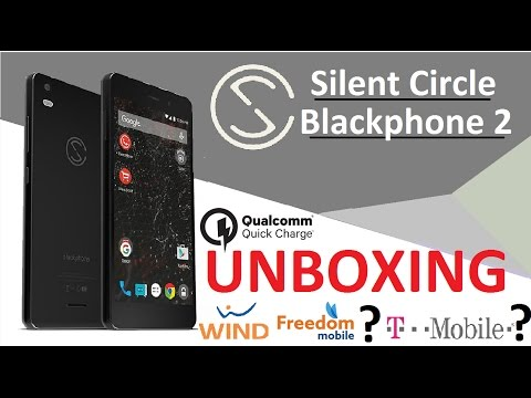 """Unboxing Review 4K : Silent Circle Blackphone 2 Snapdragon 615 3GB / 32GB  5.5"""" 1080p Gorilla Glass"""