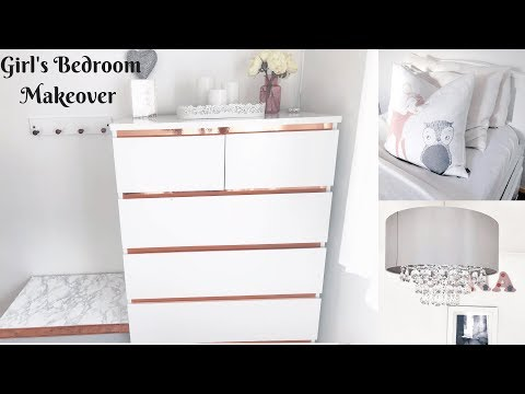 New| Home Decor| Big Girl's Bedroom Makeover