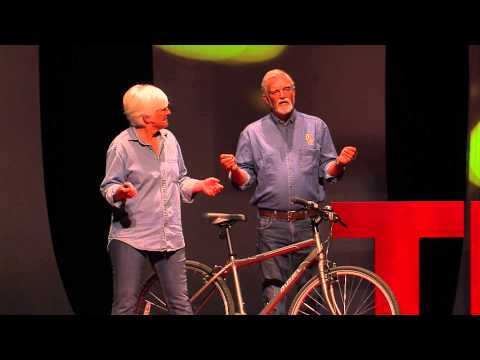 How businesses created for cyclists can change your city | Lanny Tonning & Linda Thorne | TEDxABQ