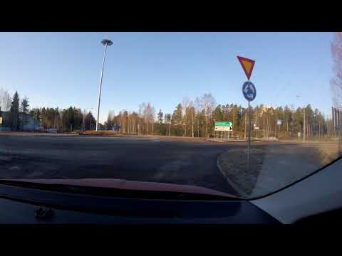 【4K】Helsinki Suburbs Drive, Kerava to Kalasatama and back