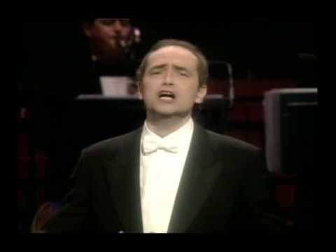 """José Carreras Sings - Serenade (Romberg) - """"A tribute To Mario Lanza"""" Part 11"""