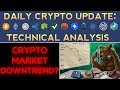 Are Cryptocurrencies Entering A Downtrend? (1/14/18) Daily Update + Technical Analysis
