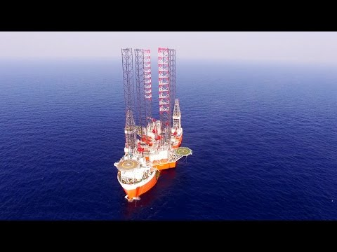 Floating-off jackups Cantarell I & Cantarell II