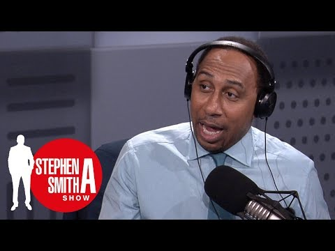 Stephen A. Smith reacts to Jim Brown's comments on President Trump | Stephen A. Smith Show | ESPN