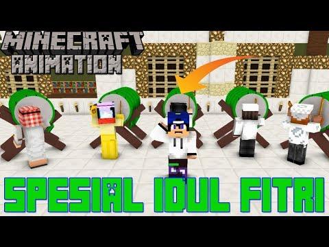 Takbir Idul Fitri bersama 4Brother,Anto Kewer Dan APGaming.Minecraft Animation