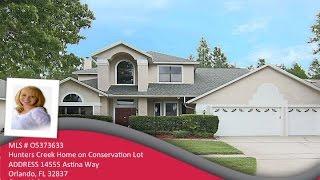Hunters Creek Home for Sale - 14555 Astina Way Orlando, FL 32837