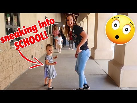 SNEAKING HER INTO SCHOOL! 😏 NOT ALLOWED 🚫