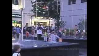 Renaissance Plaza Water Feature - White Plains, New York - Crystal Fountains