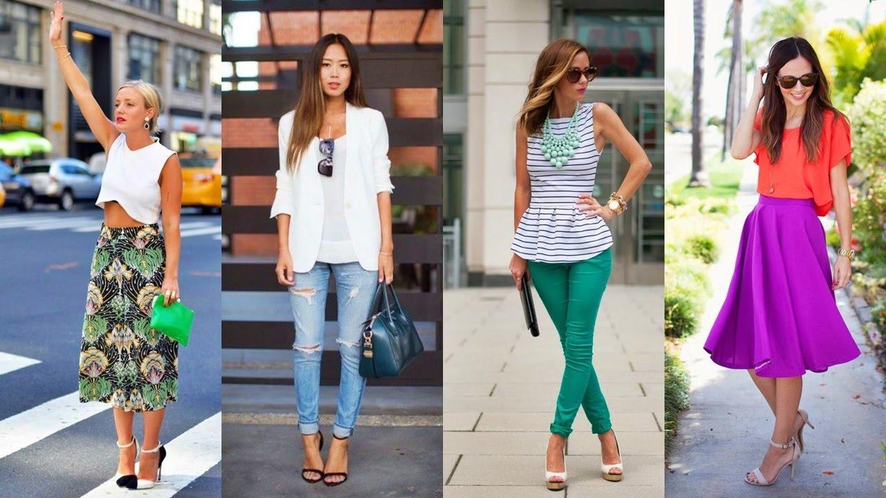 Ropa De Moda 2017 Outfits De Moda Para Toda Ocasion Youtube